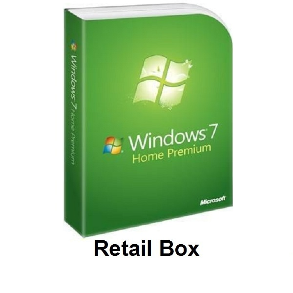 Windows 7 Home Premium  Retail Box