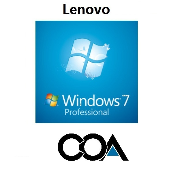 Windows 7 Professional OA China Lenovo COA Sticker