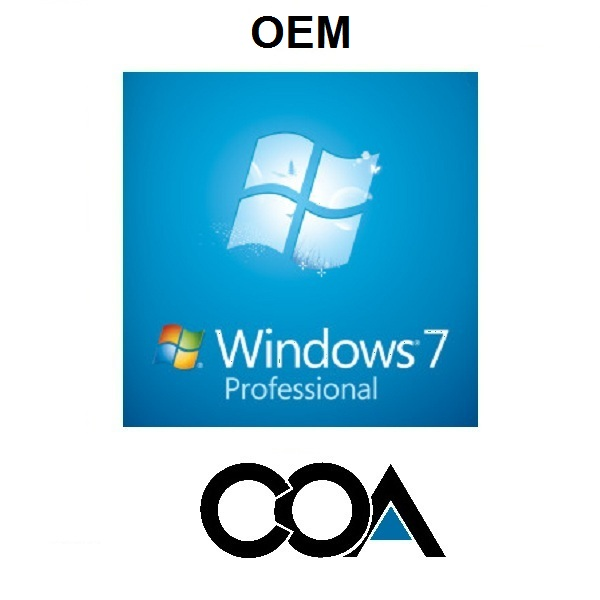 Windows 7 Professional OEM COA Sticker