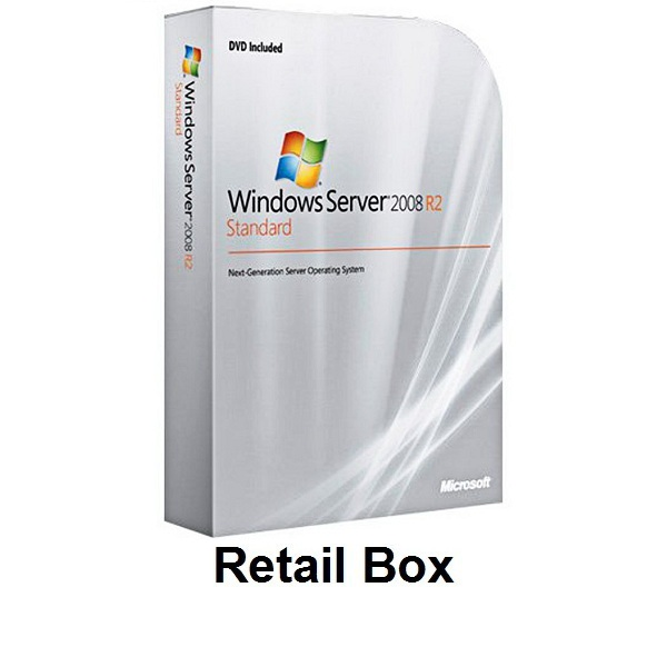 Windows Server 2008 R2 Standard Retail Box