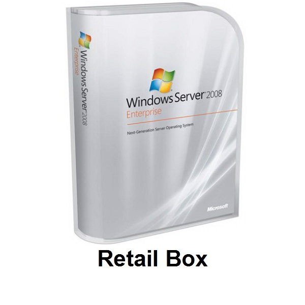 Windows Server 2008 Enterprise Retail Box