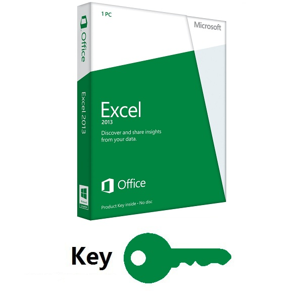 Office Excel 2013 Key