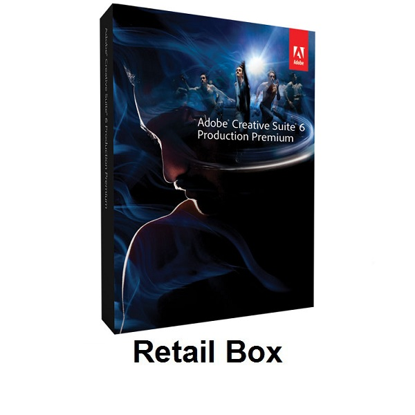 Adobe Creative Suite 6 Production Premium Retail Box