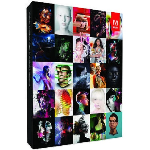 Adobe Creative Suite 6 Master Collection Retail Box