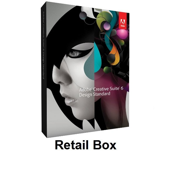 Adobe Creative Suite 6 Design Standard Retail Box