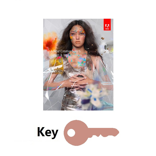 Adobe Creative Suite 6 Design & Web Premium Key